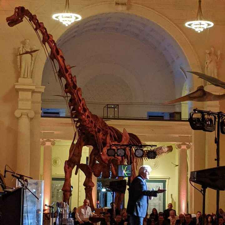 Celebrity Direct provided late night legend Jay Leno for a private #corporateevent performance at The Field Museum in #c...