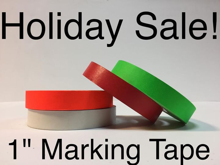 """Save 35% on 1"""" Marking/Console tape!  4 color leash for $25 with pickup or $30 with USPS priority shipping!  Email eastc..."""