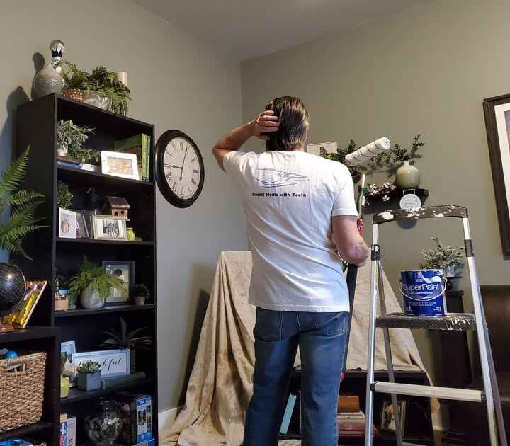 No one wants to paint the ceiling!Rather than another business/sports analogy let me share my experiences in home remode...
