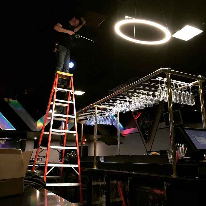We're nearing the completion of the 2nd stage of this nightclub install.We're excited to unveil the magic touch that...