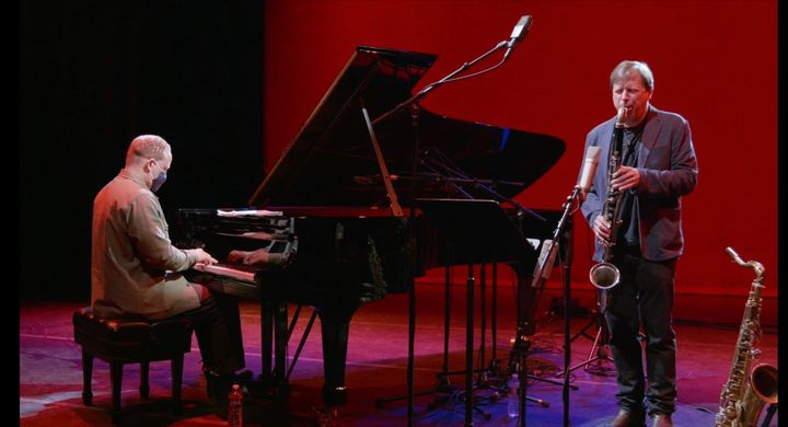 The worldwide premiere of Surreel and Seth Abramson's latest production   @chrispotterjazz and @craigtaborn in a duo per...