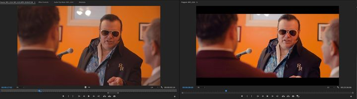 One of my favorite parts of editing is color grade.#districtmediaproductions#DistrictMedia#thewolfofmedia#comedy
