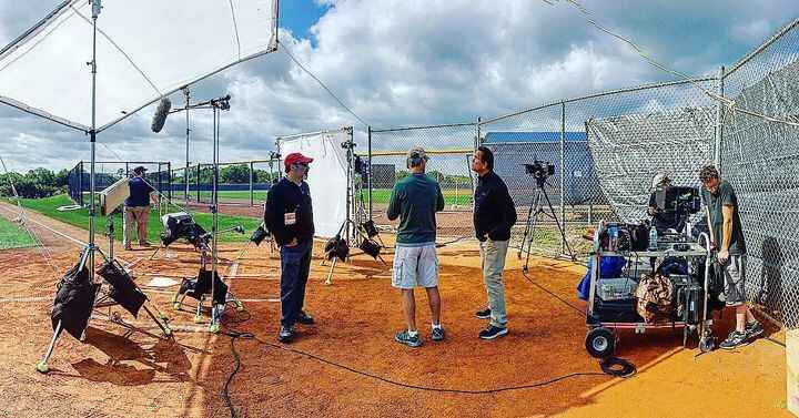 On location in Ft.Meyers Florida shooting Day 3 of @mlb @youtube digital spots