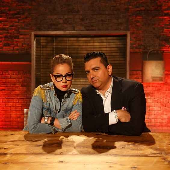 Tonight on #BeatBobbyFlay Marcela Valladolid pairs up with the Cake Boss himself, Buddy Valastro, to try and score a swe...