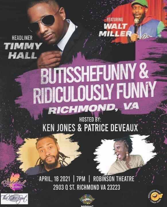 Secure your seat today! Click the link get your ticket. ⬇️⬇️https://www.eventbrite.com/e/ridiculously-funny-richmond-va-...