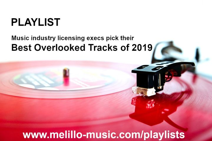 """Excited to present this playlist of music industry licensing executives' picks for """"Best Overlooked Tracks of 2019""""Liste..."""