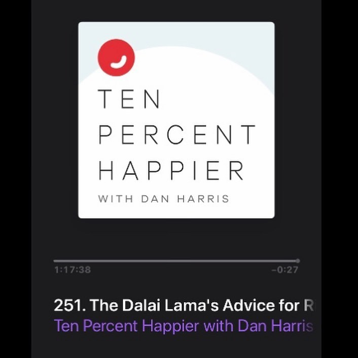 We're excited to introduce the latest podcast to join our roster: Ten Percent Happier with Dan Harris!This week's episod...