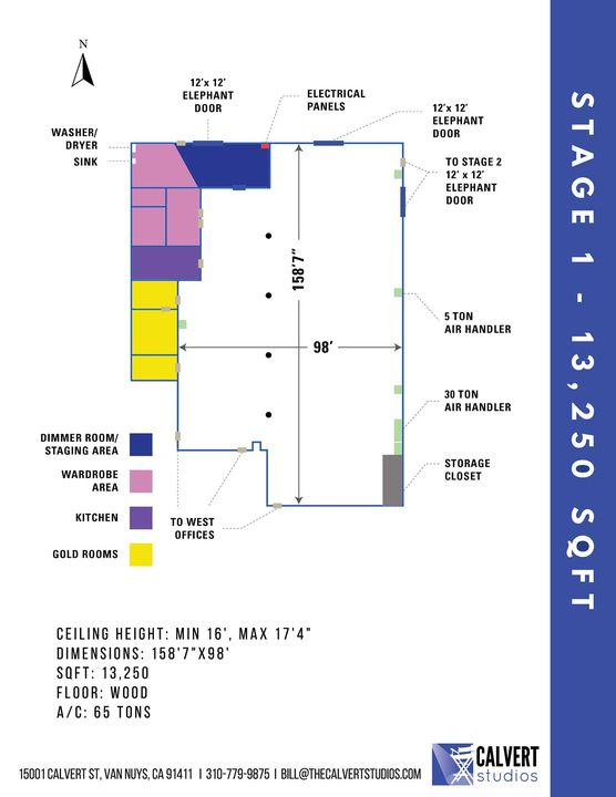 Looking to rent stage or office space? Here are our floor plans for Stages 1, 2 & 3 and Office Suites A & B. Stage 4 & 5...