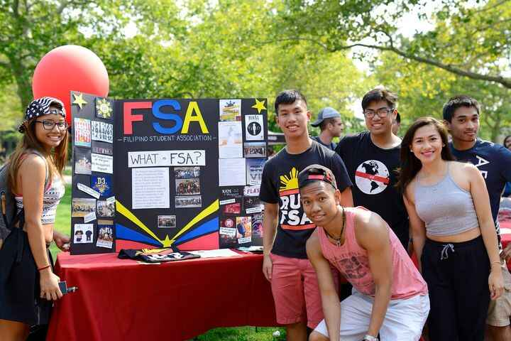 Hope everyone checked out our table today at the org fair!