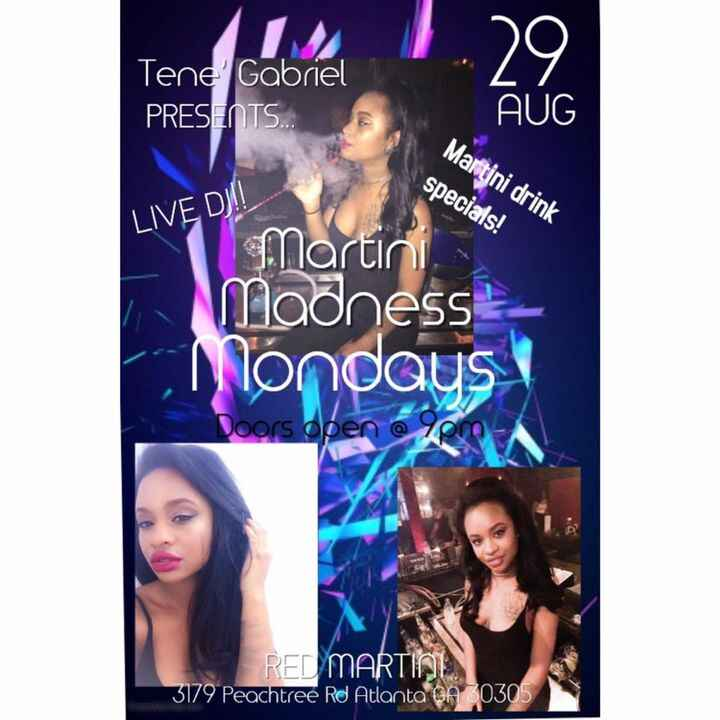 Come Out This Monday & Party With Us #TeneGabriel  #PinkDiamondRecords  #VenusClubGirls #PositiveVibesOnly & Other Speci...