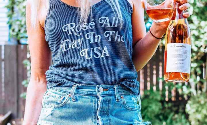 Non-pregnant Rosé loving Britt wants to remind you that if you need to stock up on wine to get you through self isolatin...