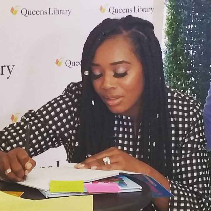 This is the 2nd book signing we attended for @yandysmith new children's book.  I can honestly say that she's one of the ...