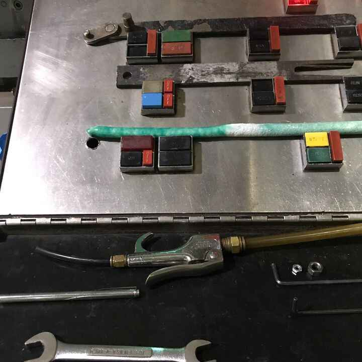 control panel tool check list:wrench✔️                                       allen key✔️                                ...