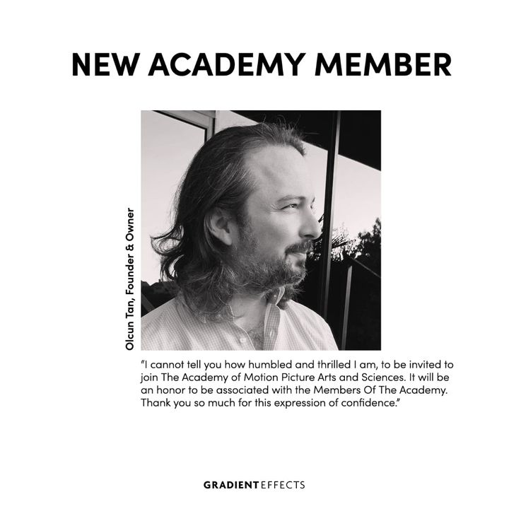 We are stoked. Congratulations to our Founder & Owner on becoming a Member of The Academy.Olcun started his career in 19...