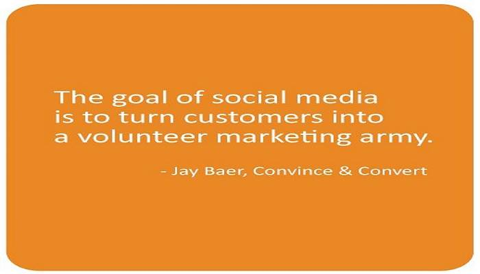 Indeed your followers become your ambassadors. Socialvation.com