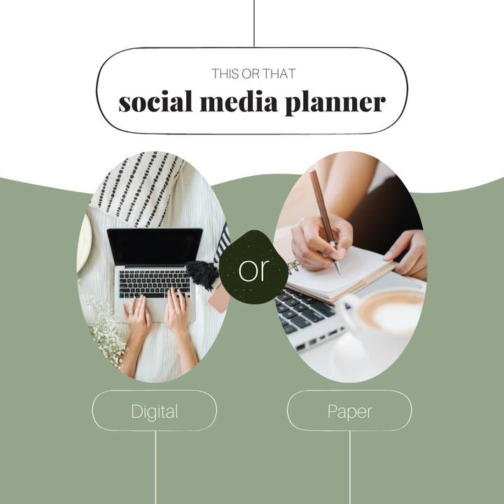 There are a million ways to stay organized.And when it comes to keeping all your social media content organized, a plann...