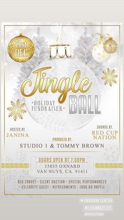 Join Grammy 2020 Nominated Producer Tommy Brown and Studio 1 for our First Jingle Ball. Hosted by JaNina.In an effort to...