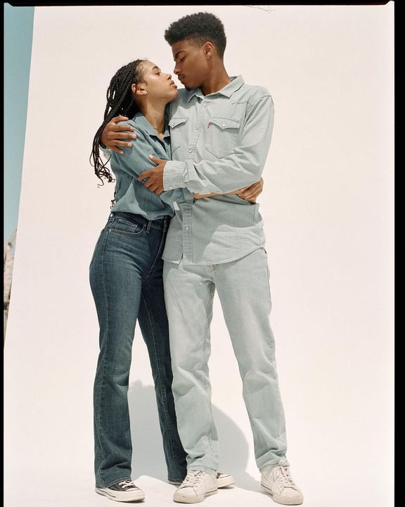 Levi's denim can be passed down from generation to generation - the brand is a true embodiment of sustainability and tim...