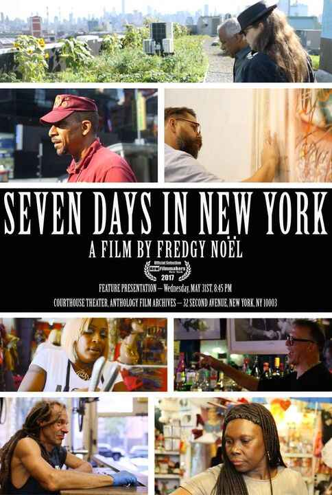 """SAVE THE DATE! """"Seven Days In New York"""" screens on May 31st as part of the NewFilmmakers New York Film Festival! Feature..."""