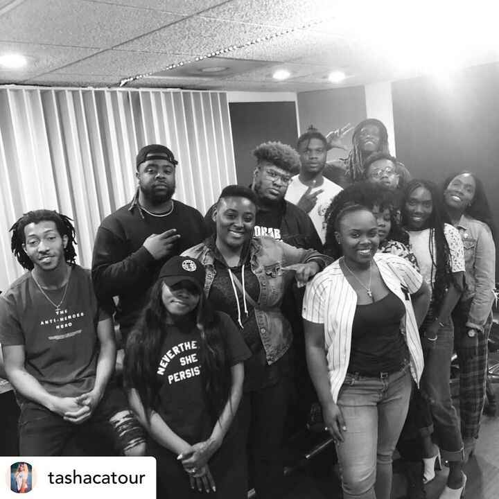 We have Alwais been blessed to be around Greatness...🙏🏿🙏🏿• repost @tashacatour My first Writing ✍️ Camp went Amazing!!! ...