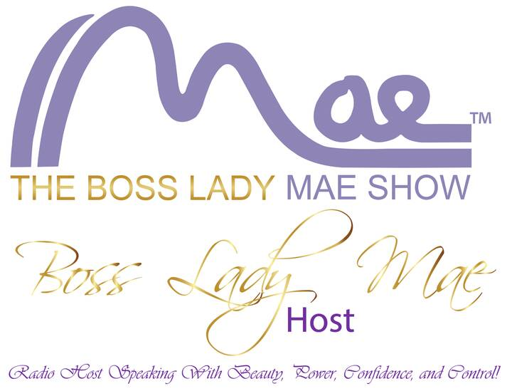 Boss Lady Mae, Host of The Boss Lady Mae Show is coming to All Aboard Radio Station!
