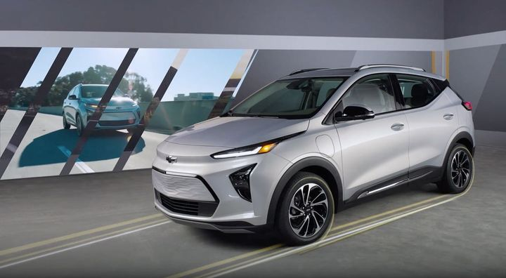 Stills take from new work for @chevrolet featuring the 2022 Bolt EV and EUV.  Check out the full walk around videos at c...