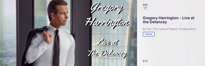 Help Downtown Welcome back to the stage Gregory HarringtonJoin our team at the welcome back concert. We are thrilled to ...