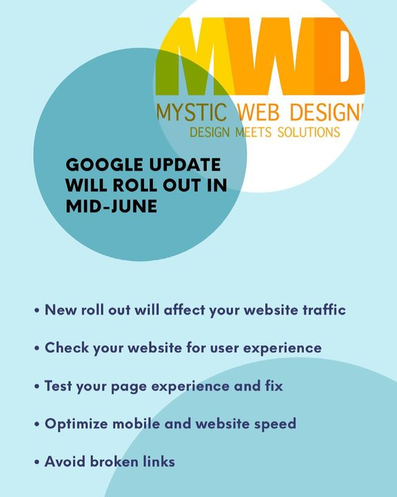 Google will roll out a new update in mid-June. The new update will affect your website traffic. Make sure your website i...