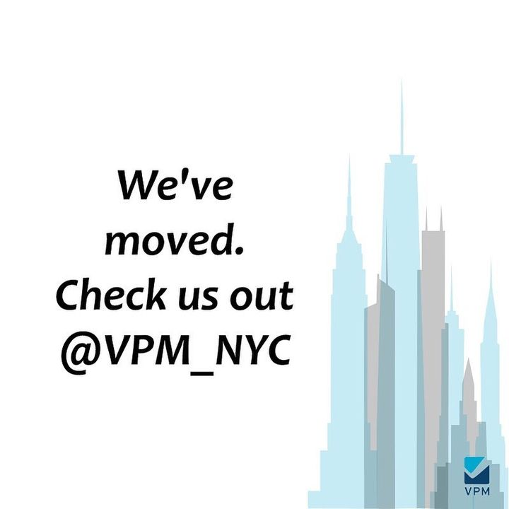 See you @vpm_nyc 🍸