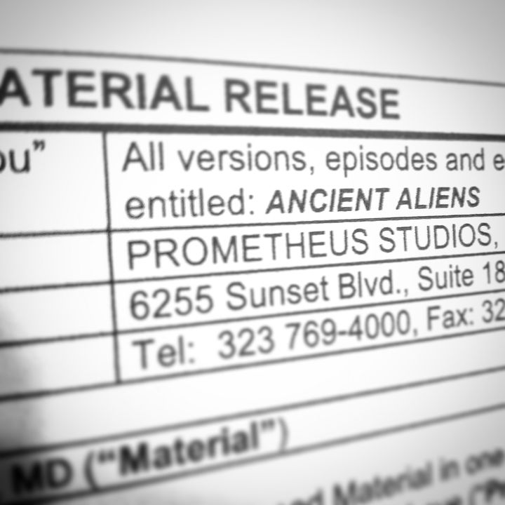 One of my helicopter aerial footage is about to be used by one of my favorite TV shows, Ancient Aliens!! Yay!!