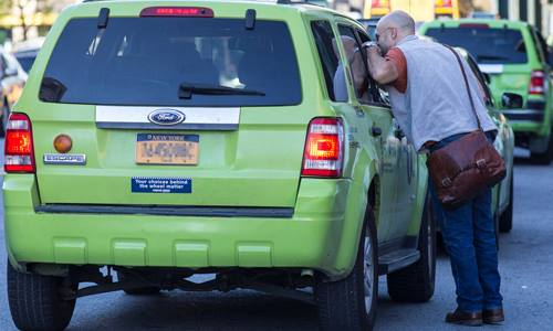 Why green cabbies don't want to drive into Manhattan anymore?http://nytaxivoice.com/1-news/220-why-green-cabbies-don-rsq...