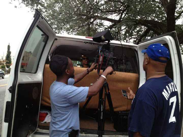 Behind the scenes with Director Mazi O