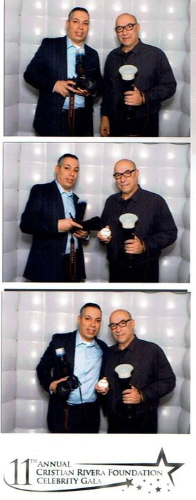 Good time working the 11th Annual Cristian Rivera Foundation Celebrity Gala! This organization raises money to fight DIP...