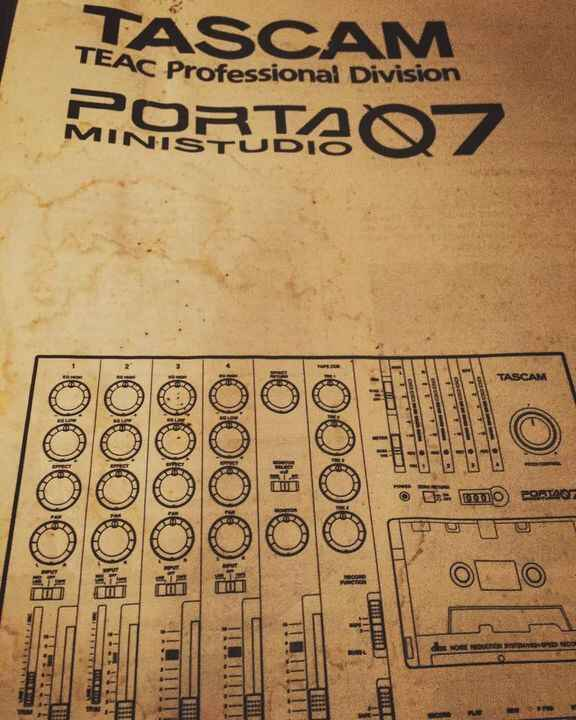Photo of the instruction manual to the first recording gear I ever owned. Thankfully wedon't have to listen to those rec...