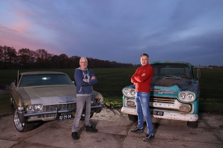 """The Brothers Van Mensvoort, Stars of the new reality show """"Auto Quest / America"""""""