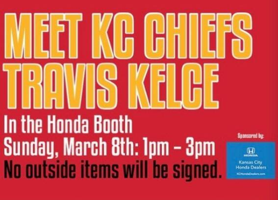 Live in the Kansas City area and need weekend plans? Come to the Kansas City Auto Show and meet Travis Kelce this Sunday...