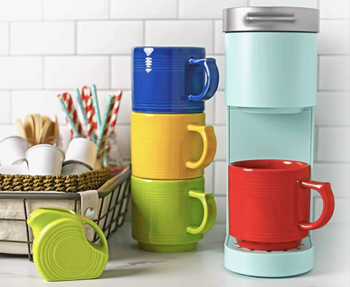 Attention coffee drinkers, and you tea drinkers, too. If you need some new mugs Fiesta may have just what you're looking...