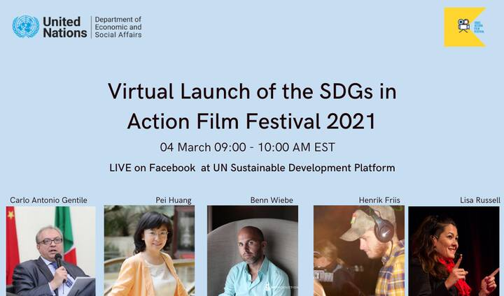 Check out our Founder Henrik Friis and Executive Producer Benn Wiebe later today on the UN Sustainable Development Platf...