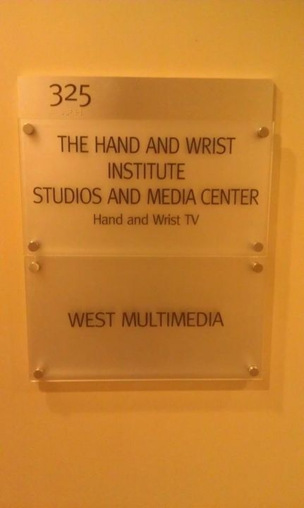Nearing the end of the buildout for West Multimedia and our new partner Hand and Wrist Institute (Hand and Wrist TV) new...