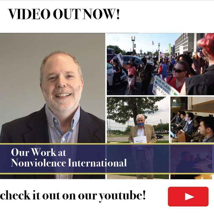 Join Nonviolence International in a nonviolent revolution and become an Agent of Change.