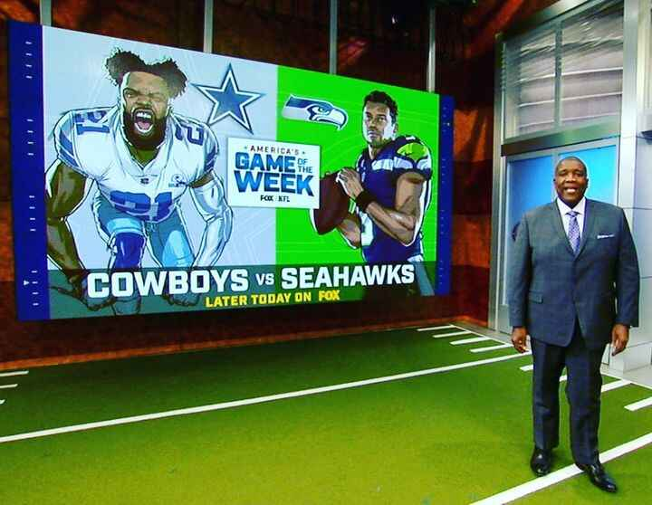 You may have seen some of our illustrated NFL players on last week's #Cowboys vs #Seahawks game...keep an eye out for mo...