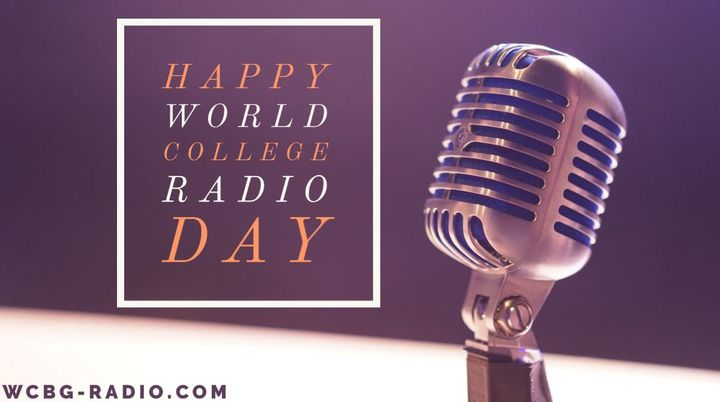 Happy #WorldCollegeRadioDay from WCBG! You can support us by tuning in to our station at wcbg-radio.com!#WCRD2020 #Globa...