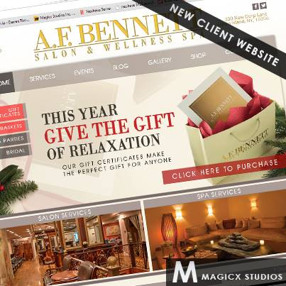 Just Launched: www.AFBennett.comWe have just completed a digital masterpiece for AF Bennett Salon & Wellness Spa located...