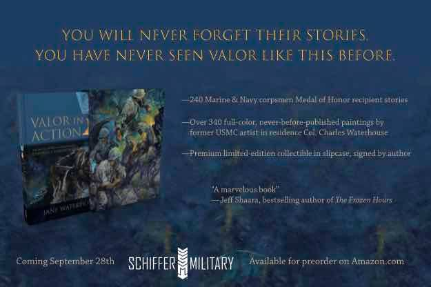 Our Friend Jane Waterhouse has a marvelous book coming out at the end of september. If you love the military, love heart...